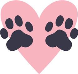 Pet Love print art