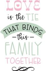 Love Binds print art