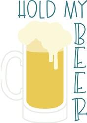 Hold My Beer print art