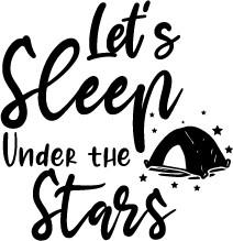 Sleep Under Stars print art