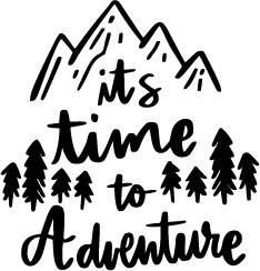 Time To Adventure print art