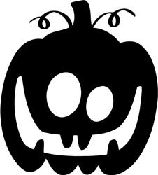 Goofy Pumpkin print art