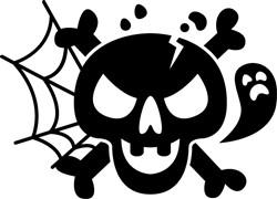 Skull & Crossbones print art