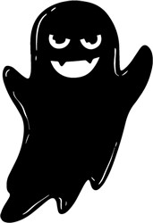 Vampire Ghost print art