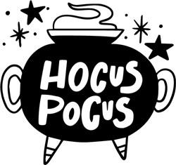 Hocus Pocus print art
