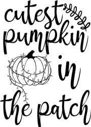 Cutest Pumpkin print art