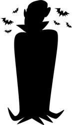 Vampire Silhouette print art
