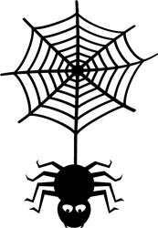 Halloween Spider print art