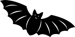 Halloween Bat print art