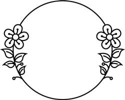Daisy Circle print art