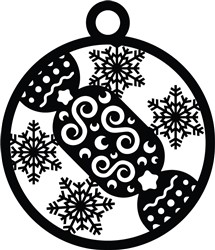 Christmas Cracker Ornament print art