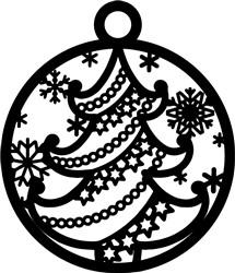 Tree Ornament print art