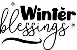 Winter Blessings print art