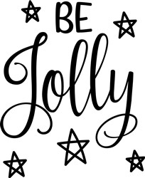 Be Jolly print art