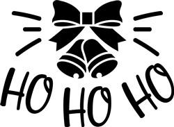 Ho Ho Ho print art