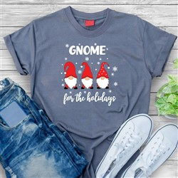 Gnome For The Holidays print art
