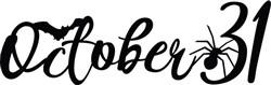 October 31 print art