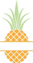 Pineapple Split print art