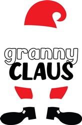 Granny Claus print art