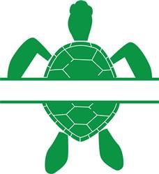 Turtle Namedrop print art
