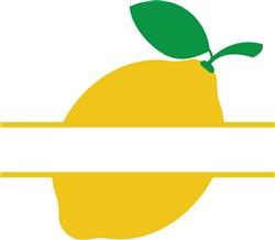 Namedrop Lemon print art