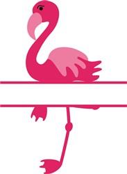 Namedrop Flamingo print art