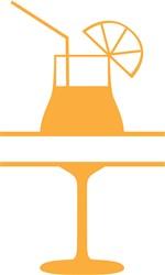 Monogram Cocktail print art