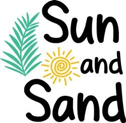 Sun And Sand print art