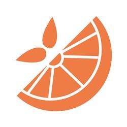 Orange Slice print art
