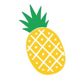 Summer Pineapple print art