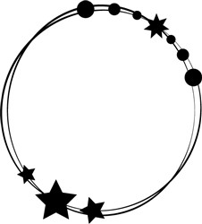 Outer Space Frame print art