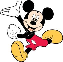 Mickey Mouse Dance print art