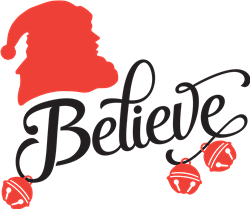 Believe print art