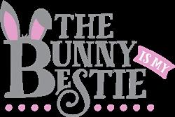 The Bunny Is My Bestie print art