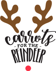 Carrots For The Reindeer print art
