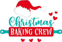 Christmas Baking Crew print art