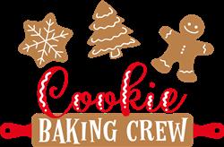 Cookie Baking Crew print art