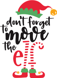 Dont Forget The Elf print art