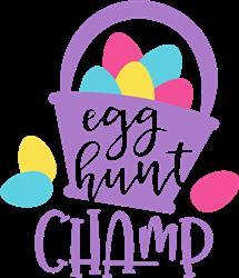 Egg Hunt Champ print art