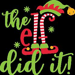 The Elf Did It! print art