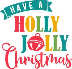 Holly Jolly Christmas print art