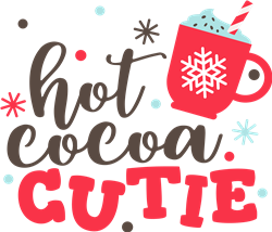 Hot Cocoa Cutie print art