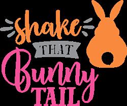 Shake That Bunny Tail print art