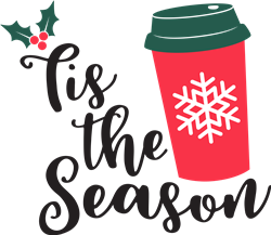 Tis The Season Latte print art
