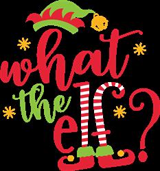 What The Elf print art
