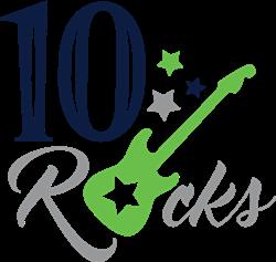 10 Rocks print art