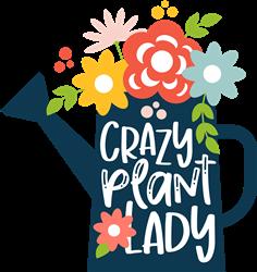 Crazy Plant Lady print art