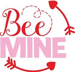 Bee Mine Valentine print art