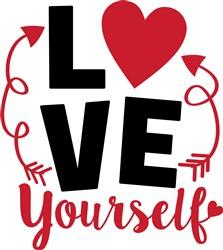 Love Yourself print art