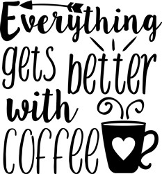Better With Coffee print art